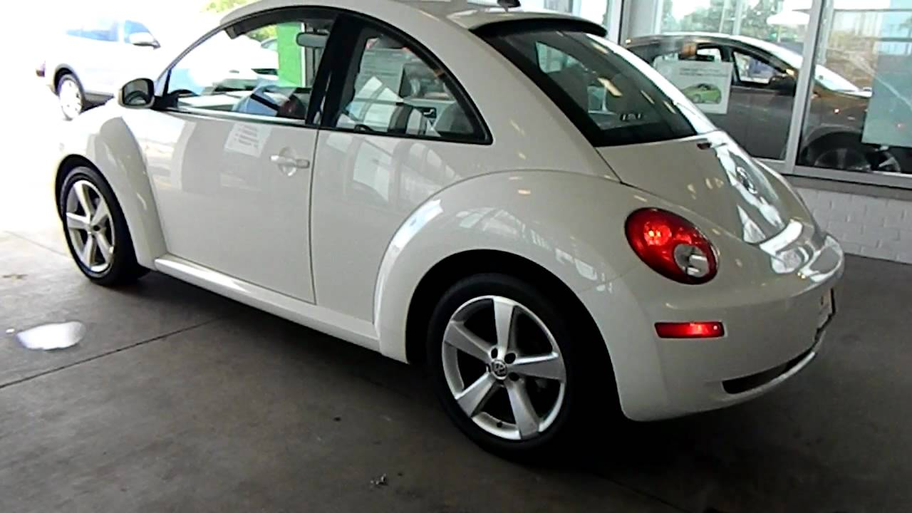 Triple White Edition 2008 VW New Beetle @ Eastside Volkswagen in Cleveland, Ohio - YouTube