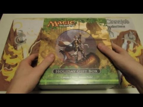 MtG - Theros Holiday Gift Box 2013 Unboxing and Review!