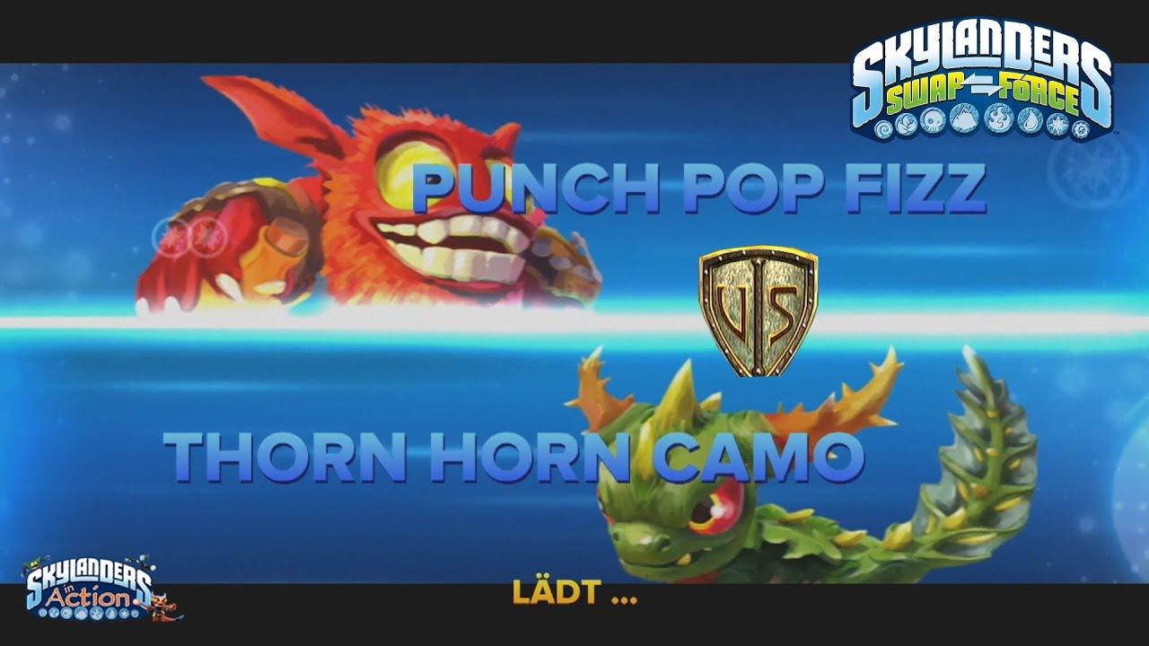 Punch Pop Fizz Punch Pop Fizz Skylanders Swap