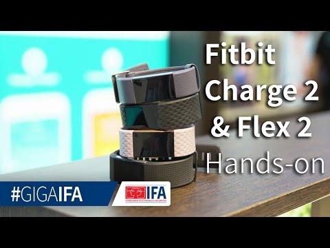 Fitbit Charge 2 und Flex 2 im Hands-On: Fitness-Tracker angeschaut - IFA 2016 - GIGA.DE
