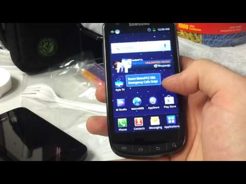 Samsung Galaxy s Lightray Review Metro PCS
