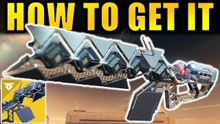 Destiny 2: How to Get The SLEEPER SIMULANT Exotic Linear Fusion Rifle! | Warmind DLC