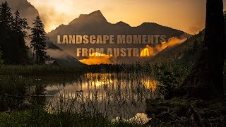 Landscape Moments from Austria - 4k