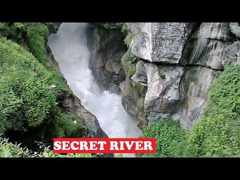 Mystic Saraswati River Himalayas
