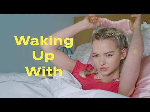 This Is Dove Cameron's Morning Routine | Waking Up With... | ELLE