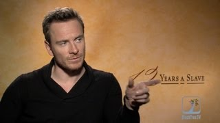 Michael Fassbender interview 12 YEARS A SLAVE