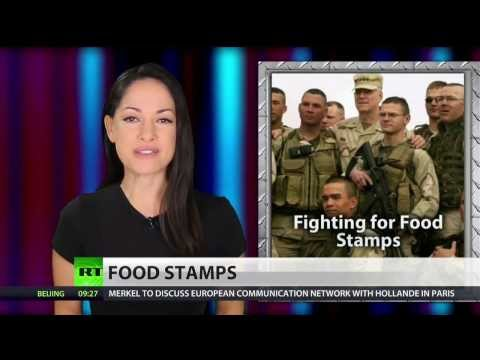 US soldiers used $100 million in food stamps in 2013