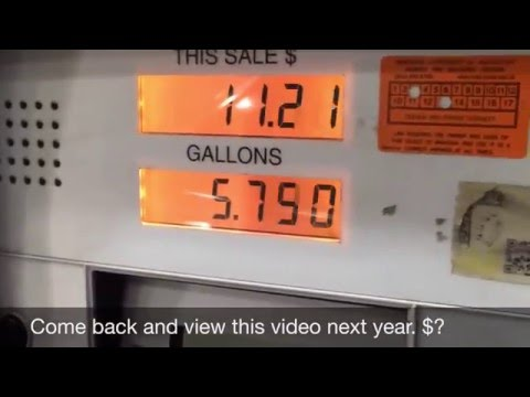January 2016 gasoline price $1.94 per a gallon--all time low