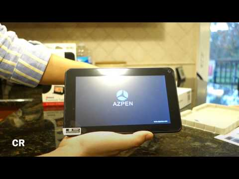 "Azpen A700 (7"" Android Tablet Running 4.2 Jellybean): Unboxing and"