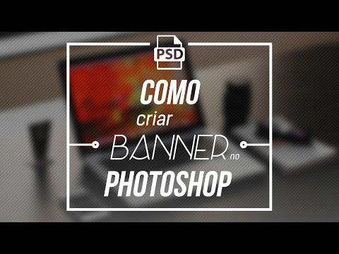 Como fazer Banner Flat no Photoshop thumbnail