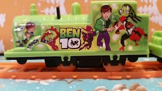 Ben 10 Protector of Earth Track Set Ben 10 Train Toy