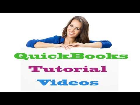 Quickbooks 2014 Tutorial - Accounts Payable