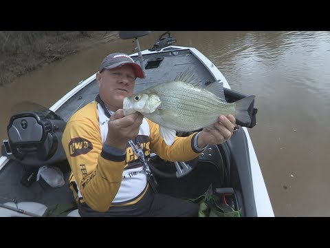 FOX Sports Outdoors SouthEAST #4-2018 Sabine River Texas White Bass Fishing