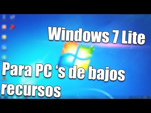 Windows 7 Lite Para PC de Bajos Recursos  Descarga y consejos de Instalación