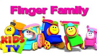 Finger Family | Bob The Train | Kindergarten Nursery Rhymes For Children