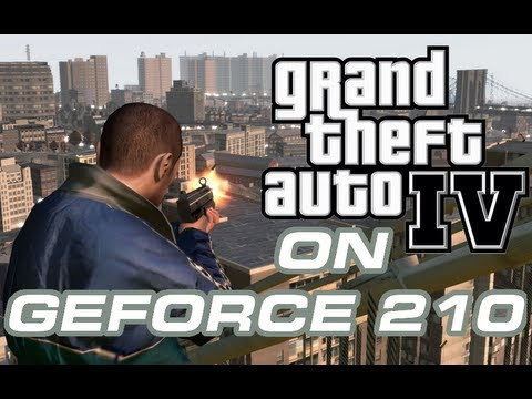 Desempenho do GTA IV na GeForce 210