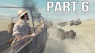 Call of Duty 2 Gameplay Walkthrough Part 6 - British Campaign - El Alamein 2/2