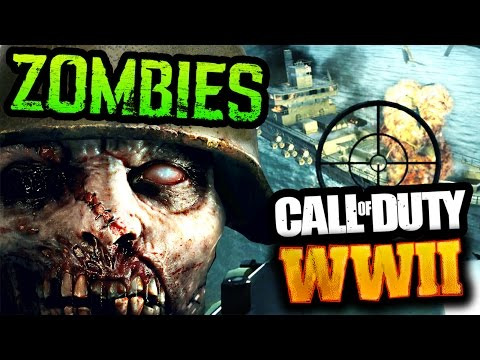 CALL OF DUTY: WORLD WAR 2 OFFICIAL GAMEPLAY TRAILER ZOMBIES TEASERS STREAM REACTION & BREAKDOWN