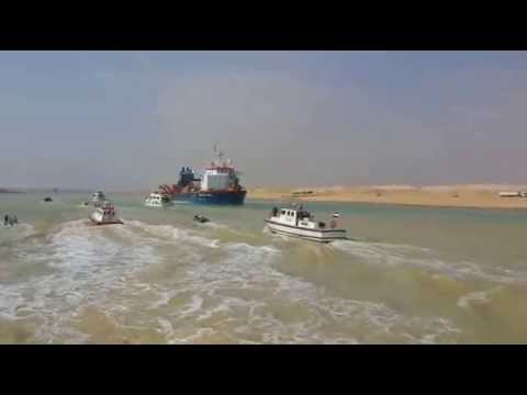 New Suez Canal: historic visit of former President Adly Mansour