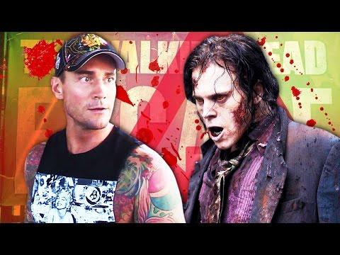 CM Punk takes on THE WALKING DEAD Escape Nerdist SDCC