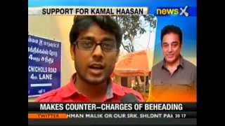 Vishwaroopam - Vishwaroopam row: People come out in support of Kamal Haasan