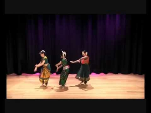 Kalaa 2012 - A trio of Bharatanatyam Odissi and Kathak - Swaroop...