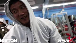 Kai Greene and Mr. Kang Go Hard on This Chest Training Session!