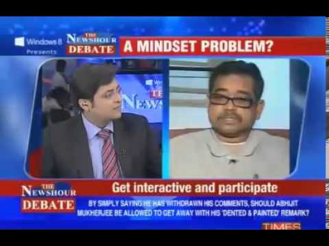 The Best Indian Debate Ever - Arnab Goswami Vs Abhijit Mukherjee video