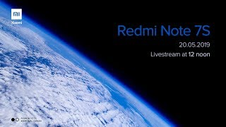 Redmi Note 7S Product Launch Live!