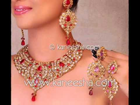 Asian Indian Gold Jewelry Bridal Jewelry India YouTube