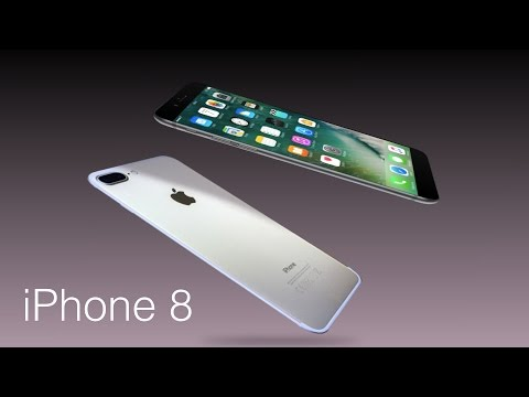 iPhone 8  Concept avec Touch Bar