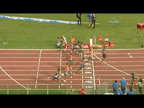 Tyson Gay beat Powell in Rome from Universal Sports