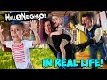 Hello Neighbor In Real Life! (FUNhouse Family) Hide N Seek