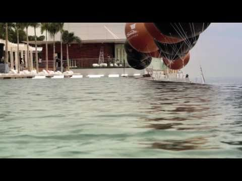 Building Marina Bay Sands 150m Pool - FULL version