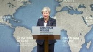 UK PM May 'worried' about the state of politics