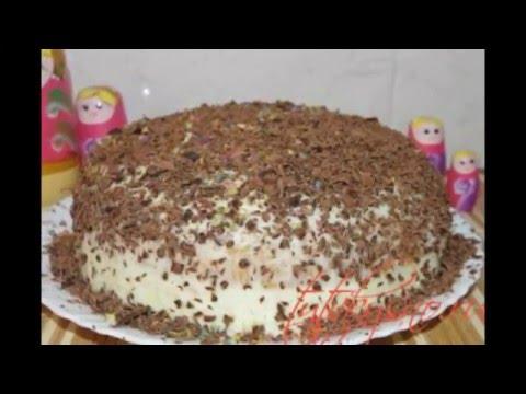 Как сделать торт с манкой