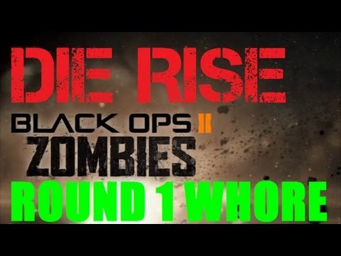 Die Rise Point Whore: Sliquifier, Trample Steam, Quick Revive, Semtex, & 200 Points on Round 1!