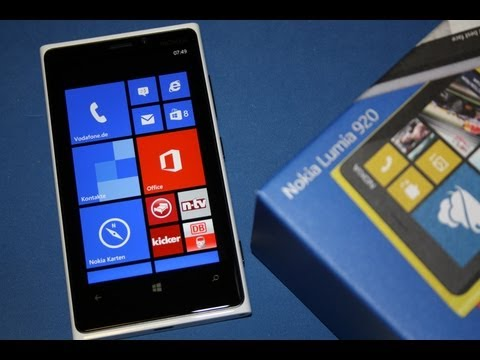 Nokia Lumia 920 - Review deutsch