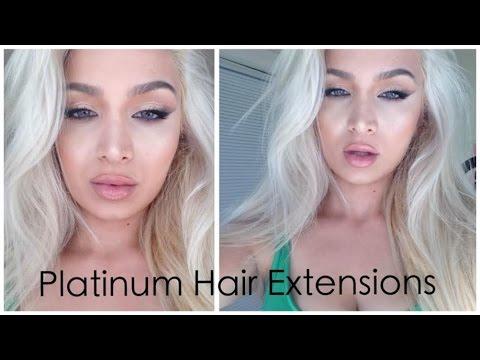 Bellami hair extensions bleach blonde