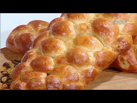 بريوش ضفائر | حلقه كاملة  الشيف #غفران_كيالي من برنامج #هيك_نطبخ #فوود