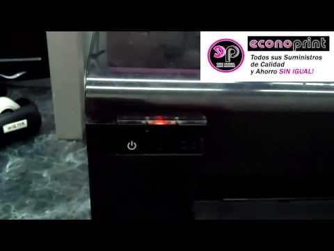 Cómo Detectar Si Tu Impresora Necesita Reprogramarse por Almohadillas Llenas