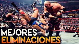 TOP 10: Las eliminaciones mas rapidas del Royal Rumble