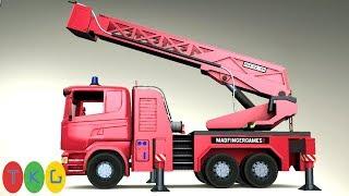 Lắp Ráp Xe Cứu Hỏa - Fire Truck | TopKidsGames (TKG) 337