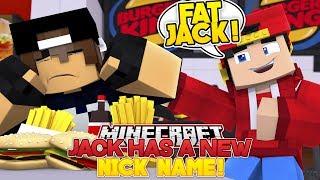 Minecraft Adventure - JACK'S GOT A NEW NICK NAME!!!