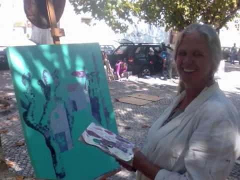 Pintura ao Vivo em Tent�gal