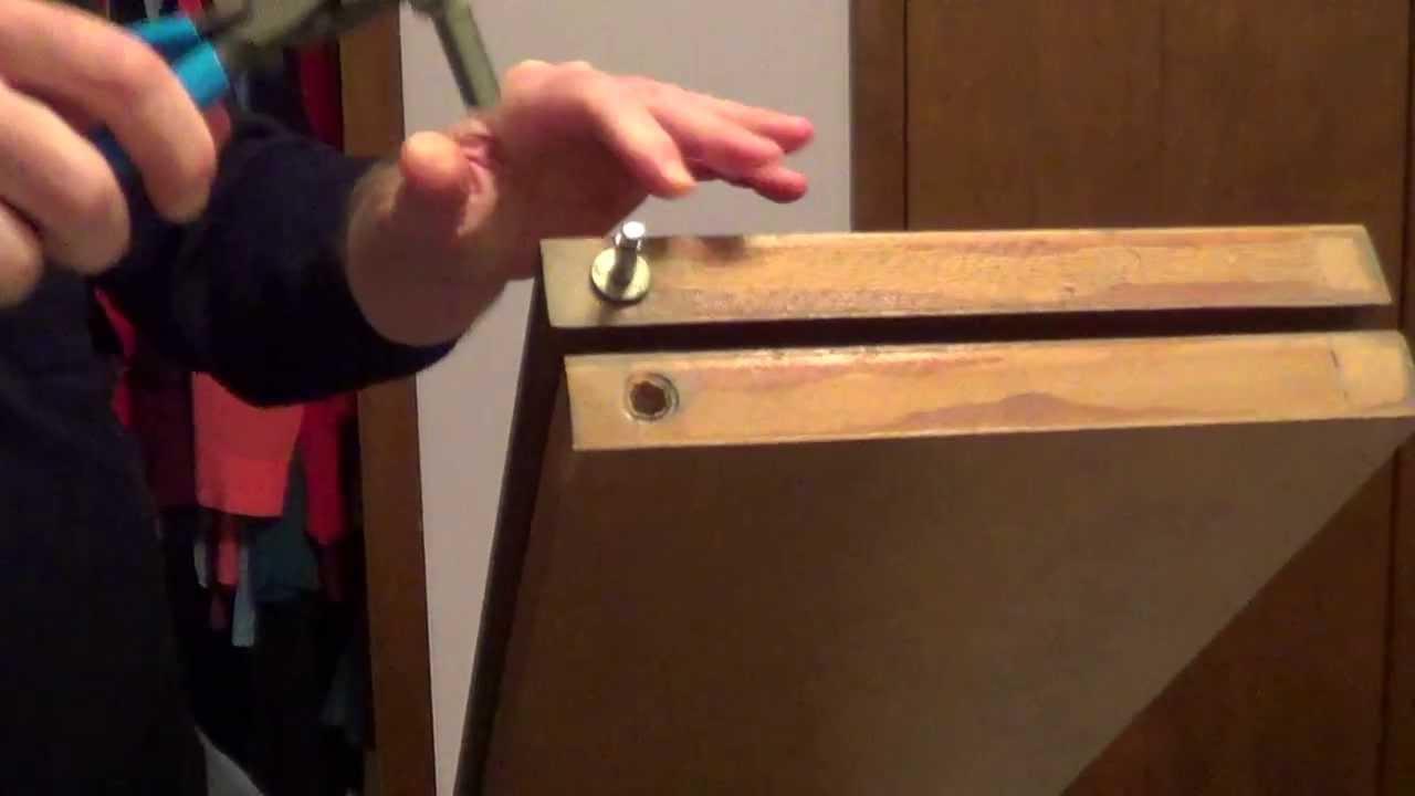 How To Fix Bifold Doors Bifold Closet Doors Youtube