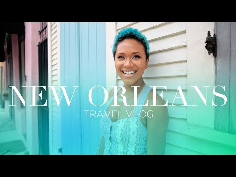 VLOG: New Orleans + Essence Festival
