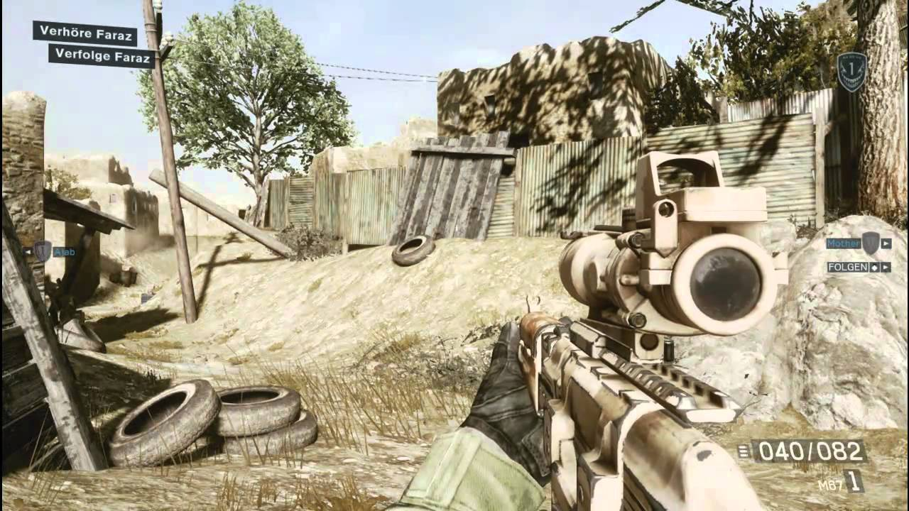 Medal Of Honor Warfighter Limited Edition Gameplay Pc