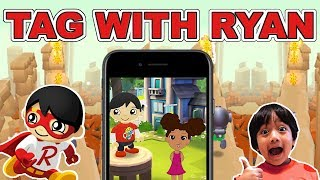 Gaming   Playing Tag with Ryan game by Ryan Toys Review for the first time