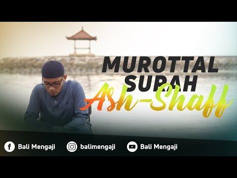Murottal Surah Ash-Shaff - Mashudi Malik Bin Maliki
